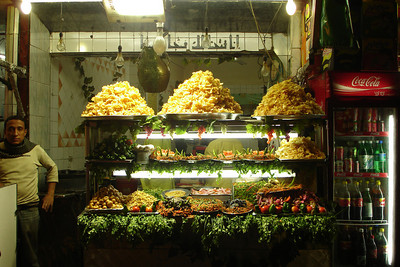 Dinner - Cairo, Egypt ... November 21, 2006 ... Photo by Rob Page III