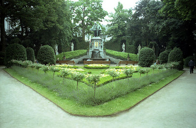 A small park in Brussels, Belgium. ... June 27, 2001 ... Photo by Rob Page III