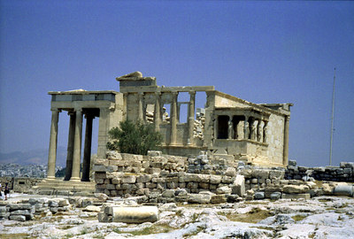 The Acropolis - Athens, Greece ... July 18, 2001 ... Photo by Rob Page III