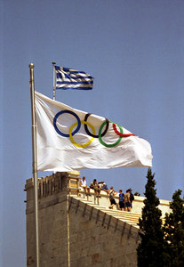 Greece, the birthplace of the Olympics - Athens, Greece ... July 18, 2001 ... Photo by Rob Page III
