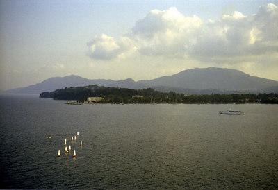Enjoying the summer - Corfu, Greece ... July 17, 2001 ... Photo by Rob Page III