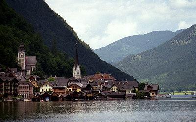 Hallstatt, Austria. ... June 30, 2001 ... Photo by Rob Page III