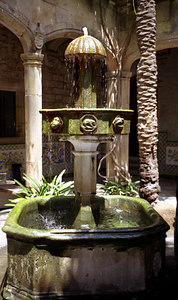 A fountain that I found on a backstreet of Barcelona, Spain. ... July 5, 2001 ... Photo by Rob Page III