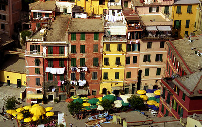 Vernazza, Cinque Terre - Italy. ... July 8, 2001 ... Photo by Rob Page III