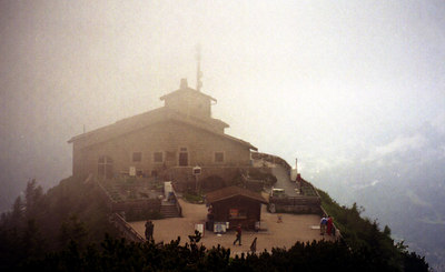 Eagle's Nest. This is Kehlsteinhaus where Hitler came for relaxation during WWII. ... July 1, 2001 ... Photo by Rob Page III