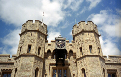 The Tower of London. ... June 21, 2001 ... Photo by Rob Page III.