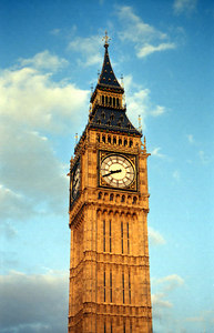 This is Big  Ben, well the bell is what is actually Big Ben.  It has kept time for England since 1858. ... June 21, 2001 ... Photo by Rob Page III