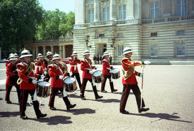 The Changing of the Guard at Buckingham Palace. ... June 22, 2001 ... Photo by Rob Page III