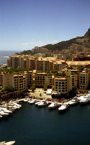 The lavishness of Monaco. ... July 7, 2001 ... Photo by Rob Page III