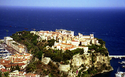 Monaco and the Royal Palace - Monte Carlo, Monaco ... July 7, 2001 ... Photo by Rob Page III