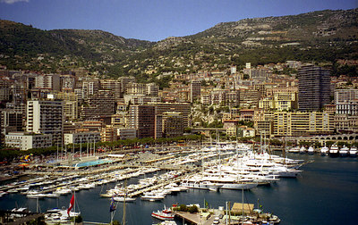 The lavishness of Monaco - Monte Carlo, Monaco ... July 7, 2001 ... Photo by Rob Page III