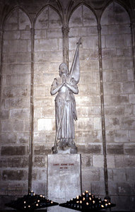 Saint Jeanne D'Arc - Notre-Dame - Paris, France ... June 23, 2001 ... Photo by Rob Page III