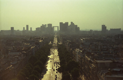 The Paris central business district. ... June 25, 2001 ... Photo by Rob Page III