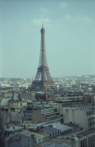 The Eiffel Tower. ... June 24, 2001 ... Photo by Rob Page III