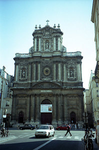 St. Pauls in Paris ... June 25, 2001 ... Photo by Rob Page III