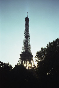 The Eiffel Tower. ... June 23, 2001 ... Photo by Rob Page III
