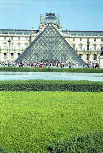 The Louvre. ... June 24, 2001 ... Photo by Rob Page III