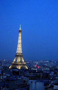 The Eiffel Tower. ... June 25, 2001 ... Photo by Rob Page III