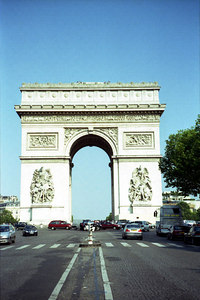 The Arc De Triomphe. ... June 23, 2001 ... Photo by Rob Page III