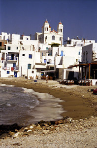 Naoussa - Paros, Greece ... July 19, 2001 .... Photo by Rob Page III