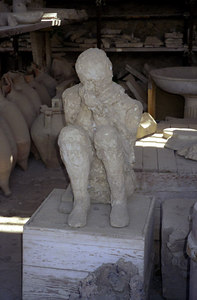 Artifacts recovered from the city - Pompeii, Italy ... July 14, 2001 ... Photo by Rob Page III