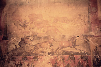 A mural - Pompeii, Italy ... July 14, 2001 ... Photo by Rob Page III