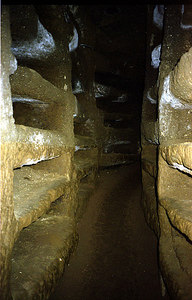 Ancient Catacombs where Christians used to be buried - Rome, Italy ... July 13, 2001 ... Photo by Rob Page III