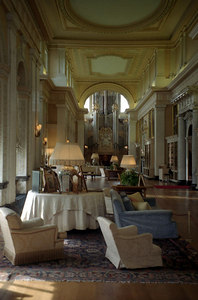 The inside of Blenheim Palace where Winston Churchhill was born.  ... June 20, 2001 ... Photo by Rob Page III