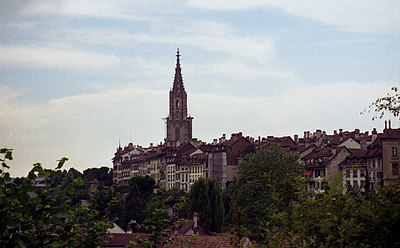 The city of Bern, Switzerland. ... July 4, 2001 ... Photo by Rob Page III