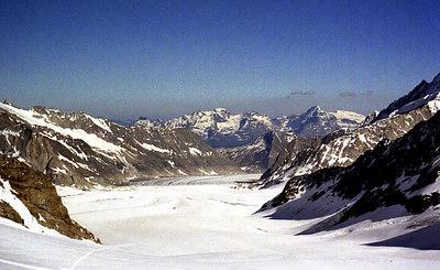 Great Aletsch Glacier - Switzerland. ... July 2, 2001 ... Photo by Rob Page III