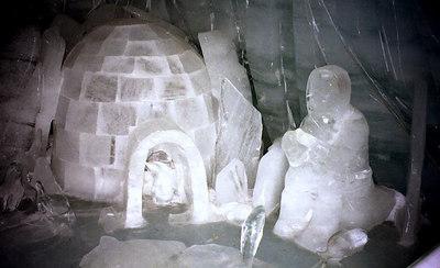 No wonder the eskimos are so cold - Jungfraujoch, Switzerland. ... July 2, 2001 ... Photo by Rob Page III