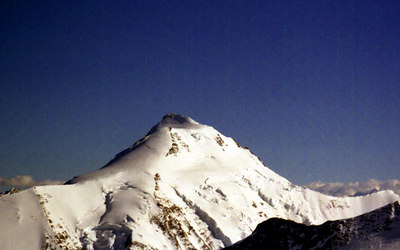 The Aletschhorn - Switzerland. ... July 2, 2001 ... Photo by Rob Page III