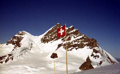The Jungfrau - Switzerland. ... July 3, 2001 ... Photo by Rob Page III