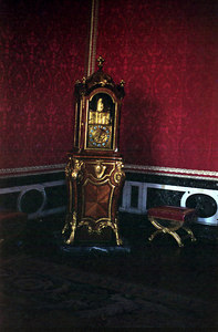 Chateau of Versailles, Apartment of the King, Bedchamber.  The King's dresser. ... June 26, 2001 ... Photo by Rob Page III