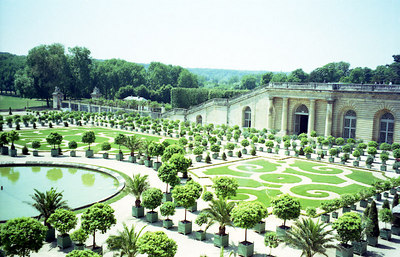 Grand Trianon in Versailles. ... June 26, 2001 ... Photo by Rob Page III