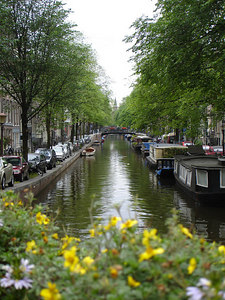 The canals of Amsterdam in the Jordaan area - Amsterdam, Netherlands ... June 15, 2006 ... Photo by Rob Page III