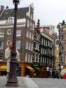 Emily enjoying the afternoon - Amsterdam, Netherlands ... June 15, 2006 ... Photo by Rob Page III
