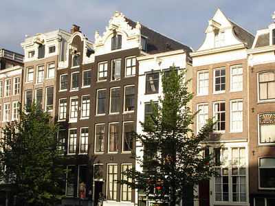 Some buildings in the sun - Amsterdam, Netherlands ... June 16, 2006 ... Photo by Rob Page III