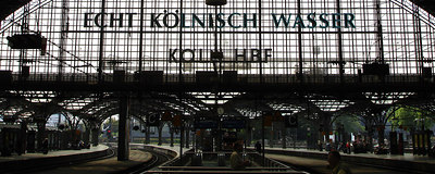 Inside the Cologne train station - Cologne, Germany ... June 14, 2006 ... Photo by Rob Page III