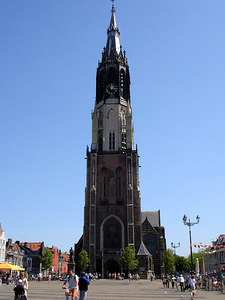 The Nieuwe Kerk - Delft, Netherlands ... June 17, 2006 ... Photo by Rob Page III