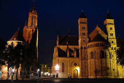 St John Church and the Basilica of Saint Servatius - Maastricht, Netherlands ... June 19, 2006 ... Photo by Rob Page III