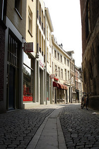 The streets of an old Middle Ages town - Maastricht, Netherlands ... June 19, 2006 ... Photo by Rob Page III