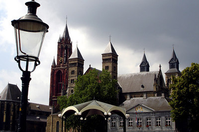 St. Jan and the Basilica of Saint Servatius - Maastricht, Netherlands ... June 19, 2006 ... Photo by Rob Page III