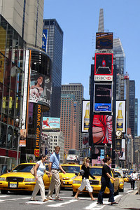 Times Square - New York, NY ... June 13, 2006 ... Photo by Rob Page III