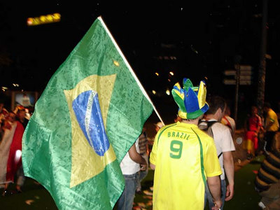 Brazil - Dortmund, Germany ... June 14, 2006 ... Photo by Rob Page III