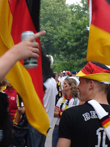 In Dortmund for the Germany-Poland World Cup game - Dortmund, Germany ... June 14, 2006 ... Photo by Rob Page III