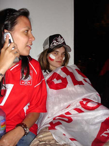 A dissapointed fan after the Germany-Poland World Cup game - Dortmund, Germany ... June 14, 2006 ... Photo by Rob Page III