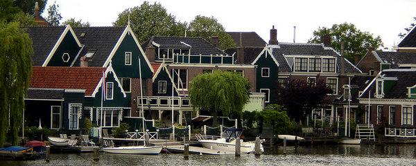 The Dutch waterfront - Zaanse Schans, Netherlands ... June 16, 2006 ... Photo by Rob Page III