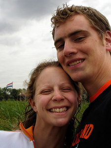 A self portrait of Emily and me - Zaanse Schans, Netherlands ... June 16, 2006 ... Photo by Rob Page III