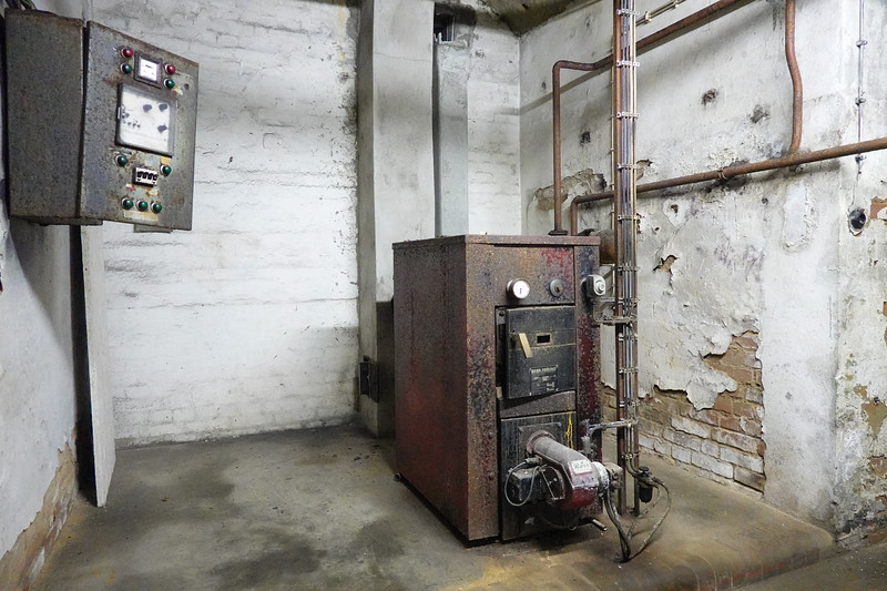 Electrical control equipment in the cellars under Nuremberg, Germany.